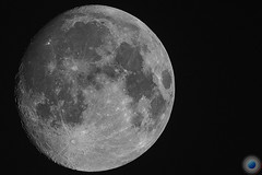 Mond at 14 Sep 2016 (Pictor Photography) Tags: bw mond natur sw blackandwhite luna lunar moon nature schwarzweiss theworldwelivein
