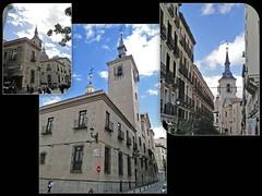 Madrid . glise San Gins (fvib'r) Tags: glise church madrid sangins churchtower clocher