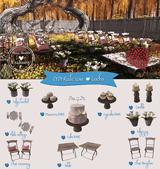 {YD} Rustic Love (yourdreams) Tags: shinyshabby event newdecorarion wedding 100mesh yourdreams release decor dreams exclusive secondlife