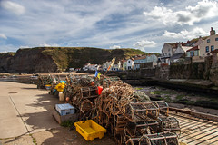 Staithes (THE NUTTY PHOTOGRAPHER) Tags: greatphotographers pots lobster harbours yorkshire north staithes ports fishing