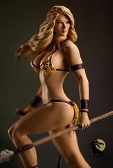 Jungle Girl 6 (Desert Dragon Visual Arts) Tags: frankcho junglegirl statue womenofdynamite