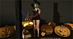 #108 - Spooktacular! Spooktastic!!! (Lucianna Emerald) Tags: id me pw vw p3 catwa daydreamer deetalez dpkoffinnails evary genre kosmetik lushish magika maitreya roulett3 supernatural thefantasiecollective themadcircus2 twe12ve