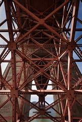 within a bridge (alouest225) Tags: pont bridge pacific pacifique goldengate sanfrancisco nikon d750 usa unitedstates etatsunis paysage landscape california alouest225 thegoldenstate architecture fortpoint red nikon1635