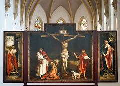 La Crucifixion, Retable dIssenheim (Muse Unterlinden, Colmar) (dalbera) Tags: retable museunterlinden colmar dalbera france alsace retabledissenheim crucifixion grnewald
