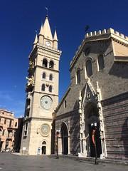 Duomo di Messina (davidevadal) Tags: city view photo church travel italy sicily messina duomo