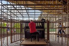 Public pianist (paulius.malinovskis) Tags: sony summer belgium belgica beautiful ghent cool street public pianist piano play lovely classical music art idea