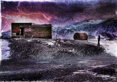 Outpost on Deception Island - Antarctica (Explored!) (D'ArcyG) Tags: antarctica textures debris decay forgotten lonely mountain ice lightening explore magicunicornverybest