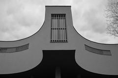 Mátraverebély-Szentkút Nemzeti Kegyhely (bencze82) Tags: mátraverebélyszentkút nemzeti kegyhely voigtländer colorskopar slii 20 mm f35 canon eos 700d magyarország hungary építészet architecture monochrome black white spring tavasz mátra