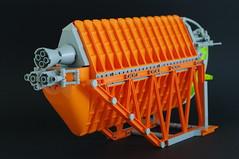 Altura 2nd (02) (F@bz) Tags: lego moc sf starfighter spaceship brickseparator orange space scifi