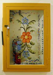 Detail (mag3737) Tags: lafonda hotel fire extinguisher glass art
