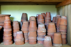 DSC_8586 (Thomas Cogley) Tags: down house charles darwin home kent english heritage historical history flower pots