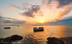 Boats (Francesco Impellizzeri) Tags: trapani sicilia sunset landscape