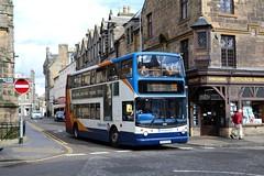 18360 MX55KOU Stagecoach Fife (busmanscotland) Tags: 18360 mx55kou stagecoach fife mx55 kou dennis trident alexander alx400 manchester greater south east scotland