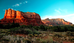 Sedona Arizona Red Rocks. (The Sergeant AGS (A city guy)) Tags: arizona best blue exploration minoltamaxxumlens mountains oldlenses park red sky slta77v sony sun unitedstates walking yavapaicounty zoomxiaf28105 2012
