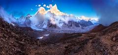 'A cold Everest view' (Castelaze_Studio) Tags: everest kala pathar nepal himalaya nupste canon french roadtrip trek base camp panorama