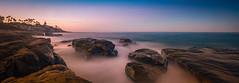 La Jolla Rocks (marcusbird13) Tags: travel usa coast coastline morning llens cannon longexposure rocks lajolla sandiego sea fall beach ocean water