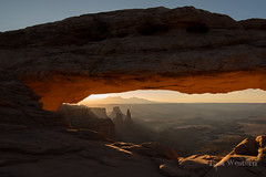 Morning Arch (East Western) Tags: mesa arch sunrise morning golden hour arches needles canyon canyonlands land canyonland national park utah ut usa