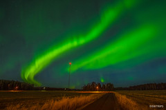 Aurora Storm - Umea, Sweden.jpg (SWTRIPS) Tags: aurora night photography e4 swtrips roadtrip scandinavia long exposure umea sweden longexposure nightphotography