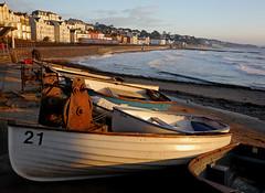 Dawn over boat cove. (r4foto) Tags: dawlish