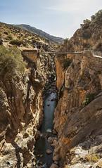 Caminito del Rey VII (Jose Peral Merino) Tags: caminitodelrey mlaga andaluca desfiladerodelosgaitanes ro puente