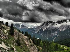 Dramatic sky over the Pltzwiese in South Tyrol (Ostseetroll) Tags: geo:lat=4664184304 geo:lon=1219559793 geotagged ita italien pltzwiese pragserdolomiten sdtirolaltoadige italia italy pratopiazza alpen alps dolomites dolomiti southtyrol
