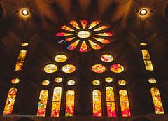 Sagrada Família IV (Rory Prior) Tags: stainedglass gaudí cathedral spain sagradafamília barcelona