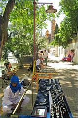 Le long du canal de Alfonso XIII, Sevilla, Andalucia, Espana (claude lina) Tags: claudelina ville town city espana spain espagne andalucia andalousie sevilla sville