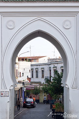Bab el-Fahs (jeremyvillasis) Tags: placedu9avril1947 grandsocco medina villenouvelle travel northafrica africa tangier tanger tanja publicspace square publicsquare plaza outdoors gate architecture moroccan middleeastern culture