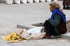 Khiva market (10b travelling) Tags: 10btravelling 2015 asia asien carstentenbrink centralasia dishonqala genericplaces iptcbasic ichonqala khiva otherkeywords polvondarvoza silkroad sovietunion ussr uzbek uzbekistan xiva east gate market tenbrink thestans