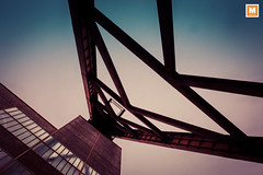 DSCF2738 (michab100) Tags: mib michab100 mibfoto essen zollverein fujifilmxt2 retro architecture himmel sky stahl steel konstruktion