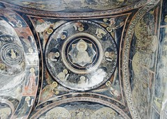 Detail Ceiling, Kretulescu Church (Miranda Ruiter) Tags: church orthodox iconography religion bucarest romania painting art kretulescu