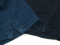 RRL / Indigo Pocket Polo & Pocket Tee (yymkw) Tags: indigo tshirt polo rrl