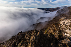 It's cloudy (thefuton) Tags: morning nature clouds sunrise volcano hawaii early maui haleakala haleakalanationalpark sunriseoverhaleakala