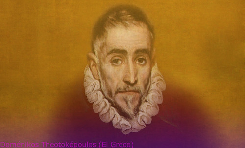 """Hidalgo Ibérico, expresión de Doménikus Theokópoulos el Greco (1597), transcripción de Pablo Picasso (1971). • <a style=""""font-size:0.8em;"""" href=""""http://www.flickr.com/photos/30735181@N00/8746813761/"""" target=""""_blank"""">View on Flickr</a>"""