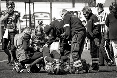 American Football in Gdynia (Yannick Chauvet {I'm back}) Tags: seahawks americanfootball varsovie gdynia trojmiasto footballamricain tricity footus seatower footballamricaingdyniaseatowervarsovie
