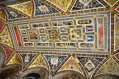 Siena, Cathedral ceiling (David McSpadden) Tags: italy cathedral ceiling siena piazza