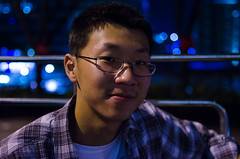 SUP (isparavanje) Tags: portrait people night singapore portraiture d5100