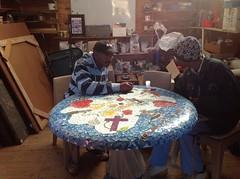 A mosaic memory table
