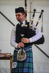Piping Competition (FotoFling Scotland) Tags: scotland kilt argyll event piper earplugs highlandgames bagpipe inveraray sporran inverarayhighlandgames