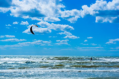 Riders on the Storm (alexwinger) Tags: blue sea blacksea sky clear cloudy serf man human horizont breeze waves summer august nikon day d5200