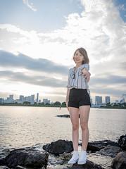 Follow me (PHUONG ANDY) Tags: girl viet nam japan odaiba follow me portrait