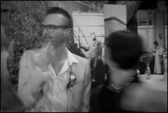 Drongen (B) - Blanc Fix - 2016/08/20 (Geert Haelterman) Tags: geert haelterman streetphotography straatfotografie photographiederue photoderue fotografadecalle fotografiadistrada strassenfotografie candid streetshot monochrome black white blackandwhite zwart wit belgium drongen olympus omd10