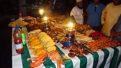 Night Market Food and Vendors, Forodhani Gardens, Stone Town, Zanzibar, Tanzania (dannymfoster) Tags: africa tanzania zanzibar stonetown forodhanigardens nightmarket food fish skewers
