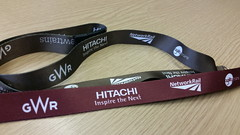 GWR 'IEP project' lanyards (pdeaves) Tags: gwr lanyard hitachi agility networkrail