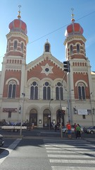 Grande Sinagoga (Great Synagogue) - Plzen (marco_ask) Tags: meseagosto edificio architettura allaperto velkásynagoga synagoga sinagoga gotico torri plzeň bohemia repceca ebraismo emmanuelklotz klotz romanico neorinascimentale