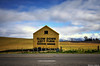 The Iconic yellow shed on SH1 (Kevin_Jeffries) Tags: iconic yellow shed barn mountain field road sh1 newzealand landmark landscape