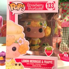 Lemon Meringue pop figure (gemini angel's art and dolls) Tags: blythe doll middie dollhouse strawberryshortcake blueberrymuffin toys diy carebears