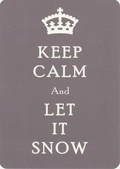 Keep Calm and (Tweeling17) Tags: letitsnow