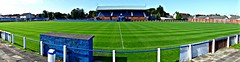 Meadow Park, Irvine (poity_uk) Tags: football fitba soccer voetball calcio fusball stadium stadion footballground fusballplatz irvinemeadowxi irvinemeadow medda meadow irvine ayrshire scotland meadowpark stand tribne pano