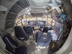 Aviation museum (James E. Petts) Tags: iceland akureyri aviation boeing727 cockpit museum